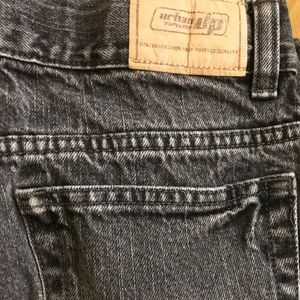 Urban Pipeline Jeans 16R, black